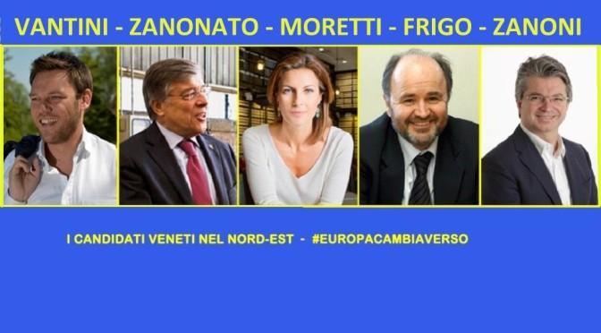 I candidati europei della nostra circoscrizione