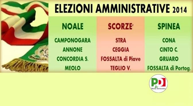 Amministrative 2014: i comuni al voto