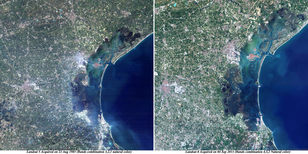 Venice_Italy_Landsat5-8_Before_after
